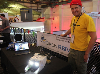 OpenROV open-source underwater robots!