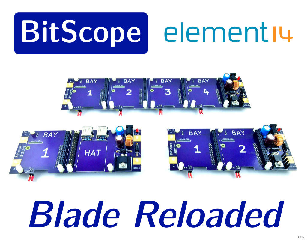 BitScope and element14 launch new Blade for Raspberry Pi !