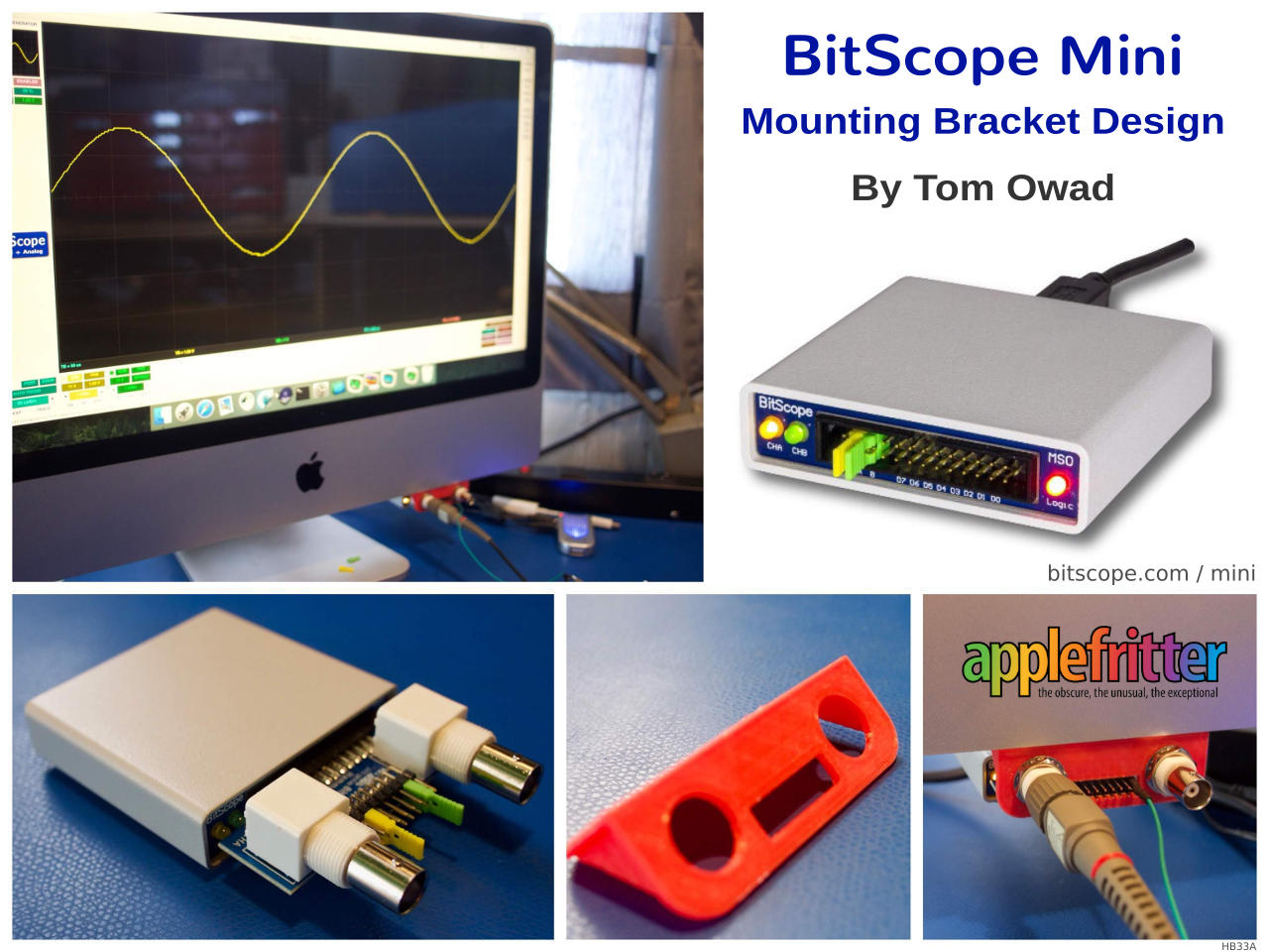 BitScope iMac Mini Test and Measurement Workstation