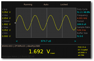 Automatic Oscilloscope and Waveform Analysis for BitScope.